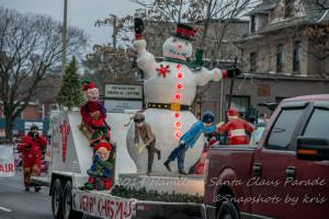 Hamilton Santa Claus Parade 2014